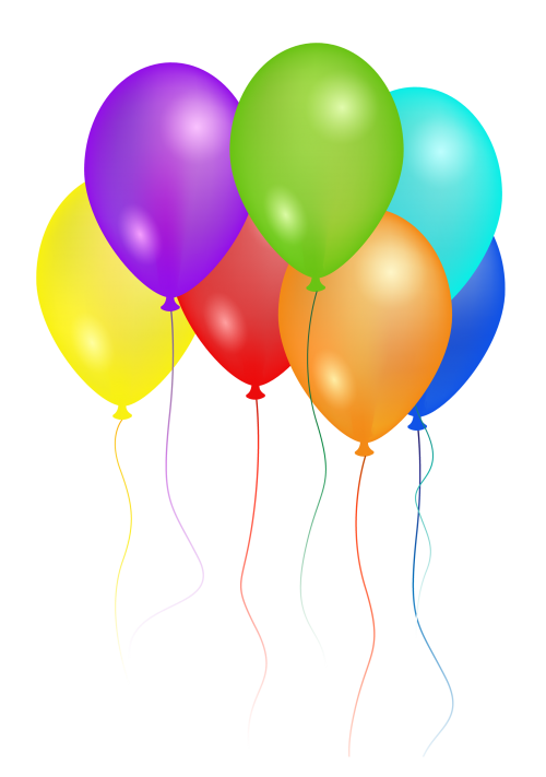Birthday Party Balloons PNG image - PngPix Balloons Transparent
