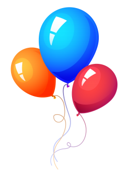 Party Balloon PNG Image