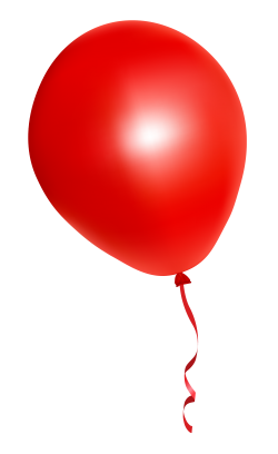 Red Balloon PNG Image