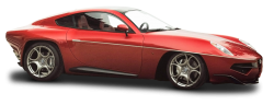 Alfa Romeo Disco Volante Sports Car PNG Image