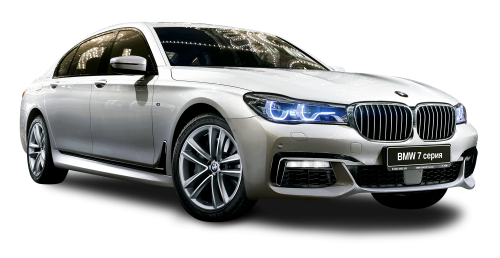 BMW 7 Series Car PNG Image