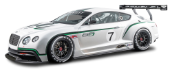 Bentley Continental GT3 R Race Car PNG Image