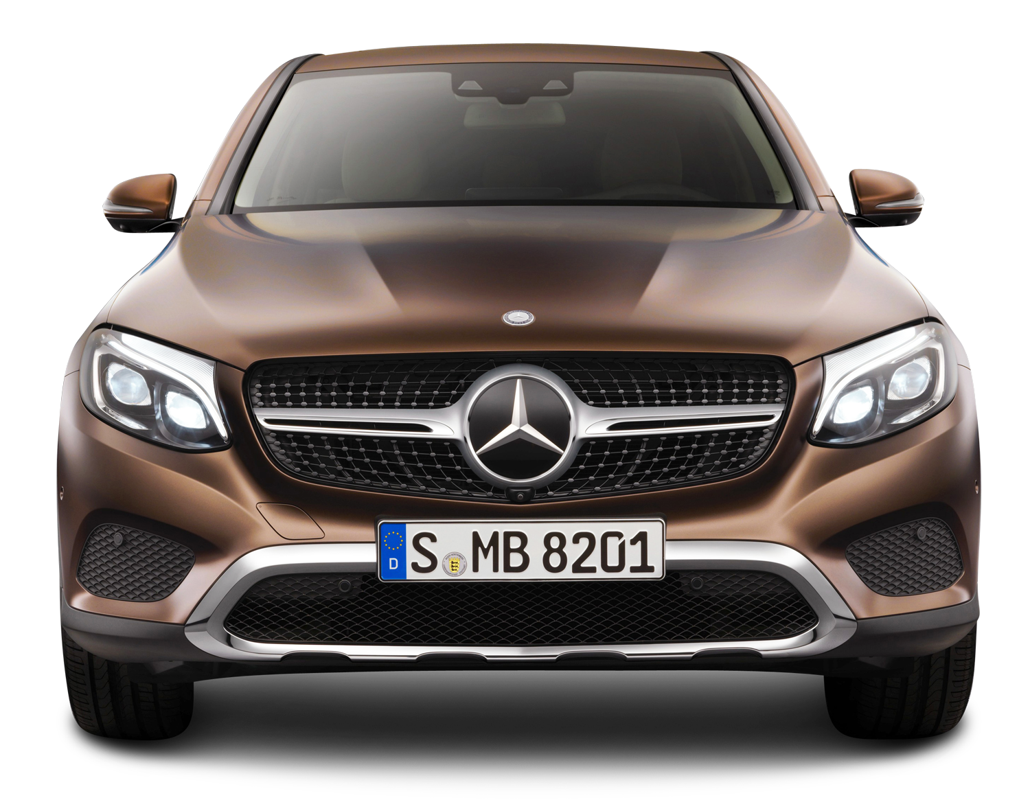 Brown Mercedes Benz Gle Coupe Front View Car Png Image