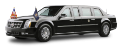 Cadillac Presidential Limousine Car PNG Image
