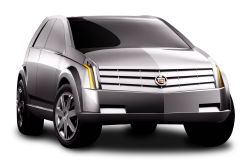 Cadillac Vizon Grey Car PNG Image