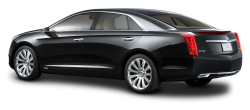 Cadillac XTS Platinum Black Luxury Car PNG Image