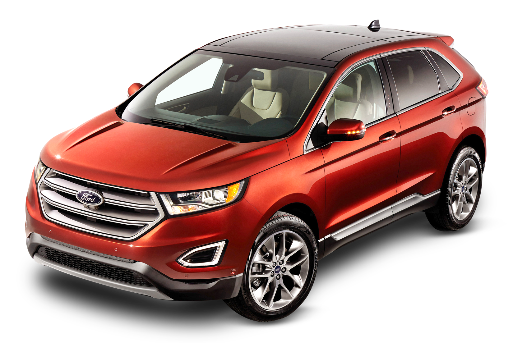 Red Ford Edge Car