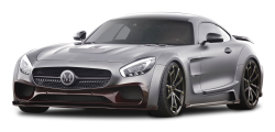 Gray Mercedes AMG GT S Car PNG Image