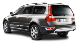 Gray Volvo XC70 Car PNG Image