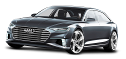 Grey Audi Prologue Avant Car PNG Image