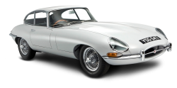 Jaguar E Type Coupe Car PNG Image