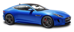 Jaguar F TYPE Luxury Sports Blue Car PNG Image
