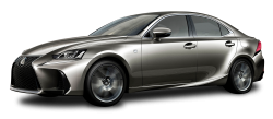 Lexus IS Silver Car PNG Image