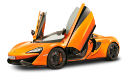 McLaren 650S GT Orange Car PNG Image