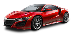 Acura NSX Red Car PNG Image