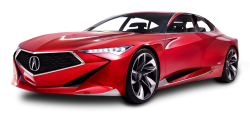 Red Acura Precision Car PNG Image