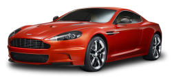 Red Aston Martin DBS Carbon Car PNG Image