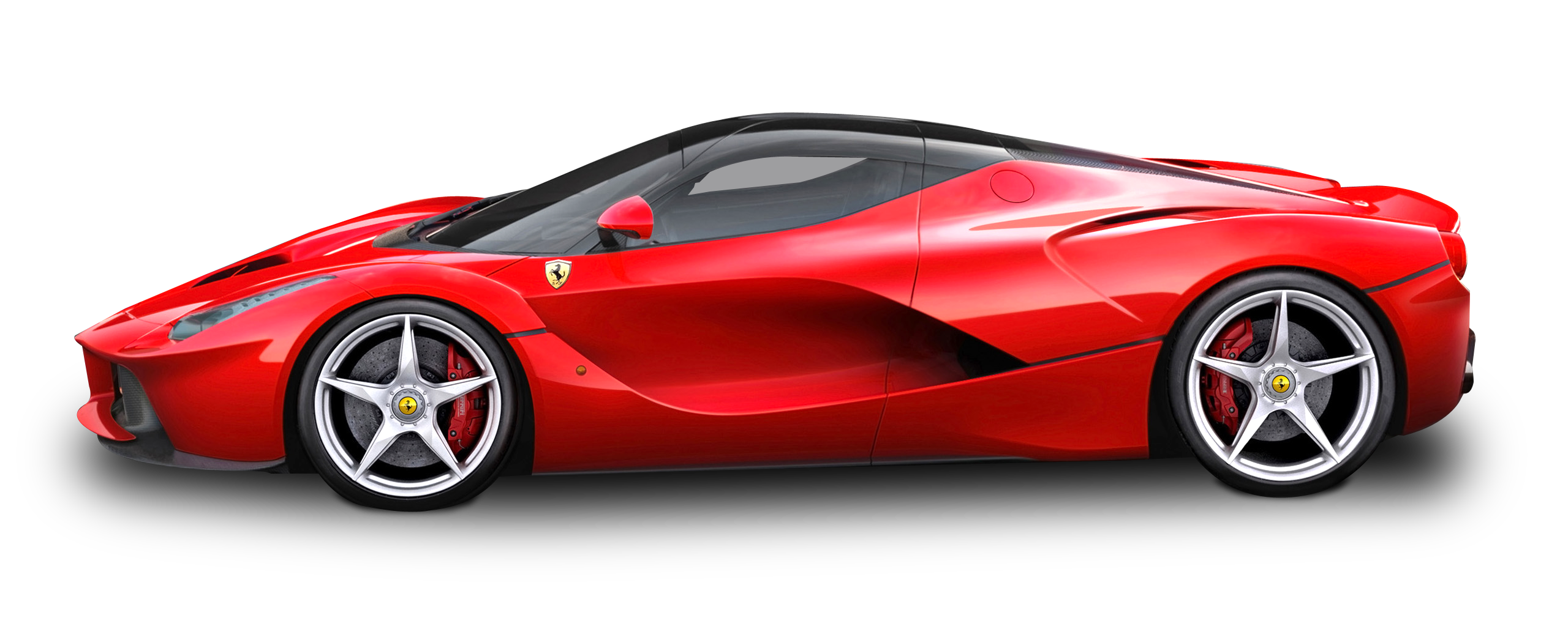 Red Ferrari Laferrari Car Png Image Pngpix