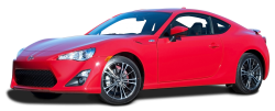 Red Scion FR S Car PNG Image