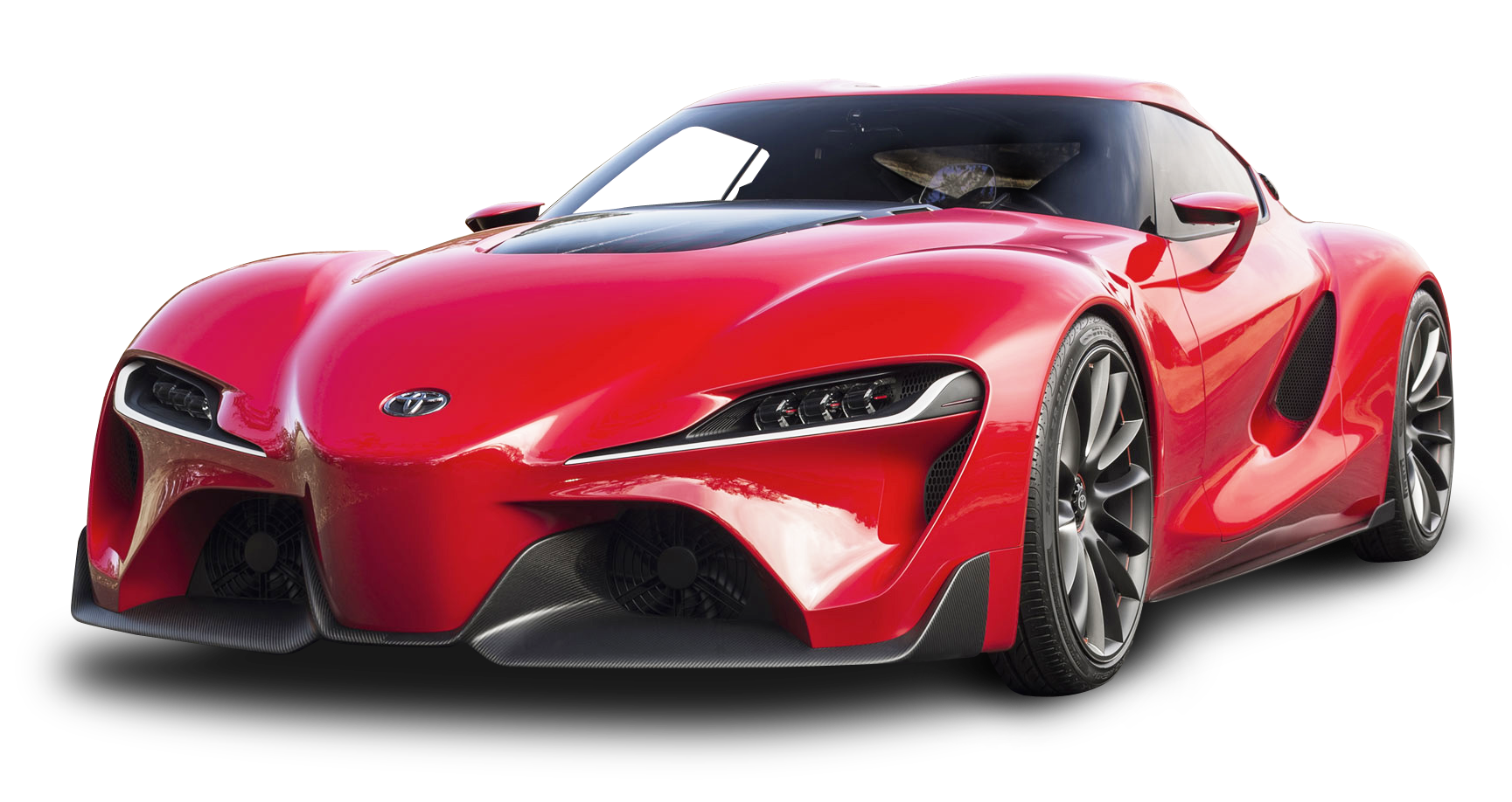 Red Toyota FT 1 Car PNG Image - PngPix