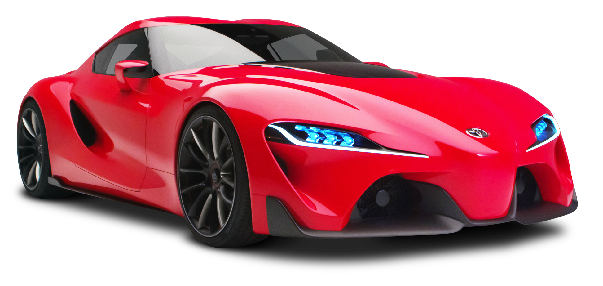Red Toyota Ft1 Sports Car Png Image Pngpix