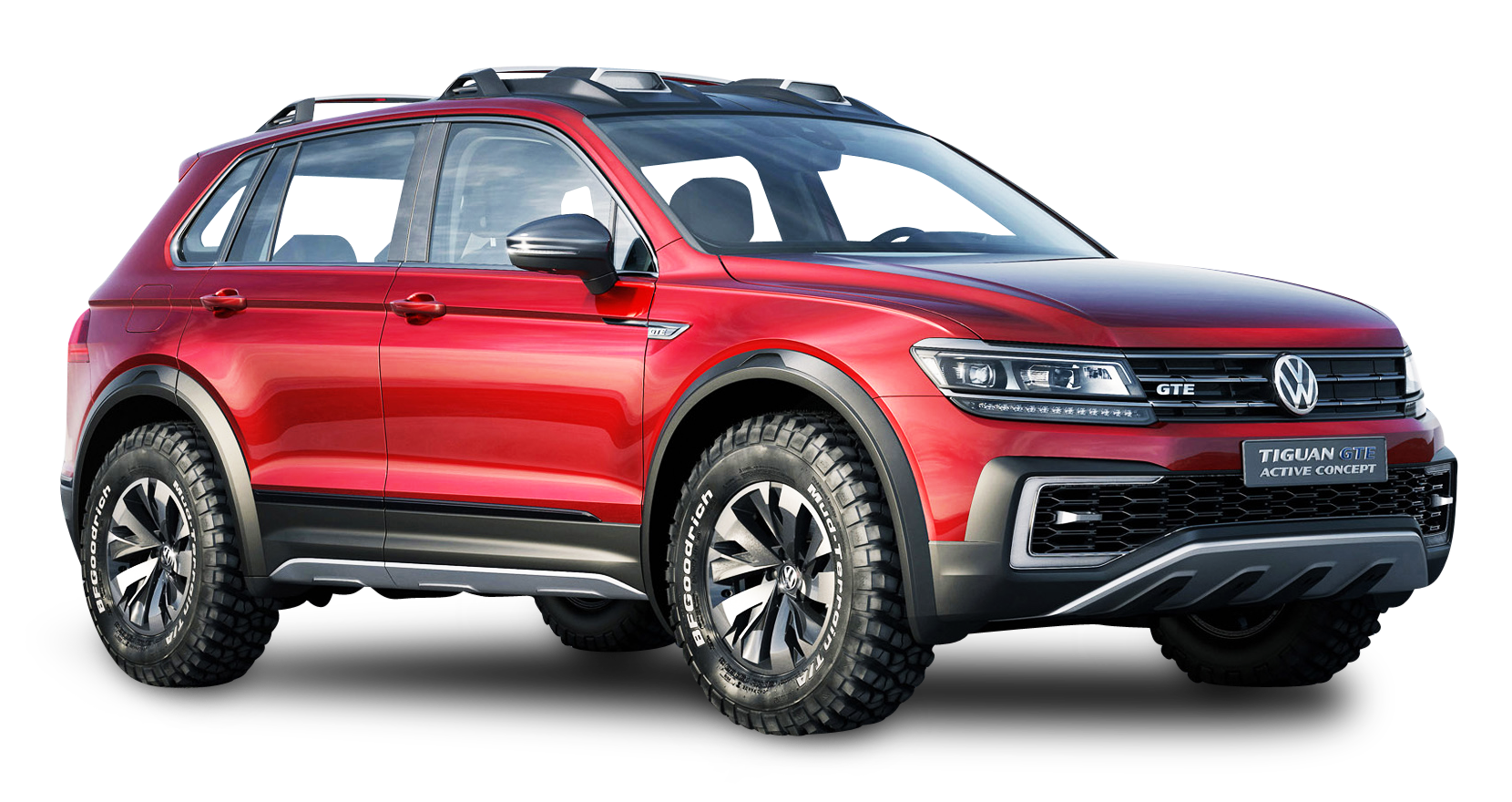 red volkswagen tiguan gte active car png image pngpix. Black Bedroom Furniture Sets. Home Design Ideas