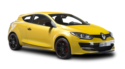 Renault Megane Rs Yellow Car Png Image Pngpix