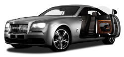Rolls Royce Wraith Silver Car PNG Image