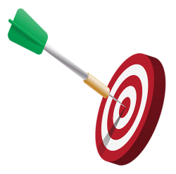 Dartboard With Arrow PNG Transparent Image