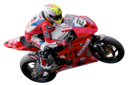 Motorcycle Racer Transparent PNG Image