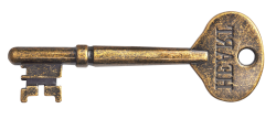 Old Key PNG Transparent Image