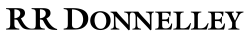 RR Donnelley Logo PNG Transparent