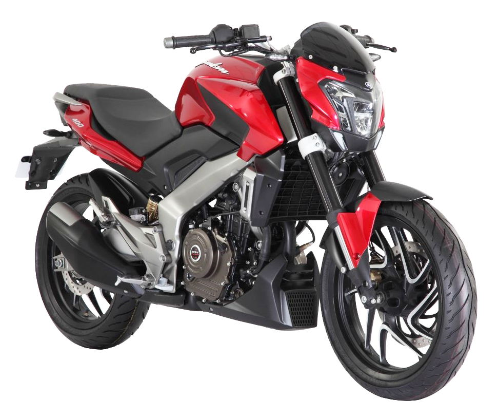 Red Bajaj Pulsar Motorcycle Bike PNG Image - PngPix
