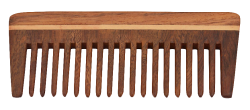 Wooden Comb PNG Transparent Image