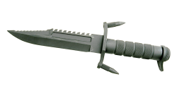 Hunting knife PNG Transparent Image