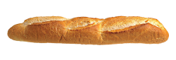 Long Loaf Bread PNG Transparent Image