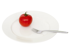 Plate Tomato Fork PNG Transparent Image