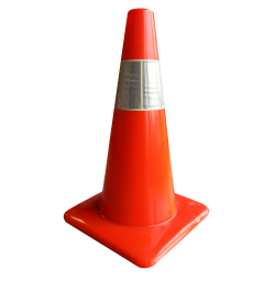 Traffic Cone PNG Transparent Image