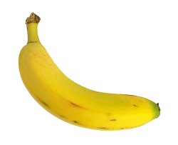 Yellow Banana PNG Transparent Image