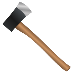 Axe Vector PNG Transparent Image