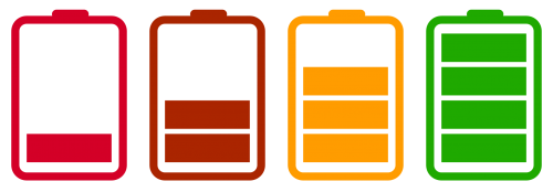 Battery Charging PNG Image