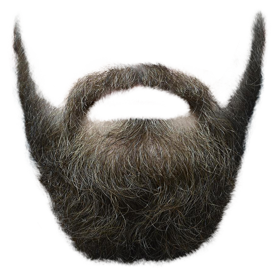 Beard PNG Transparent Image  PngPix - Cartoon Hairstyles
