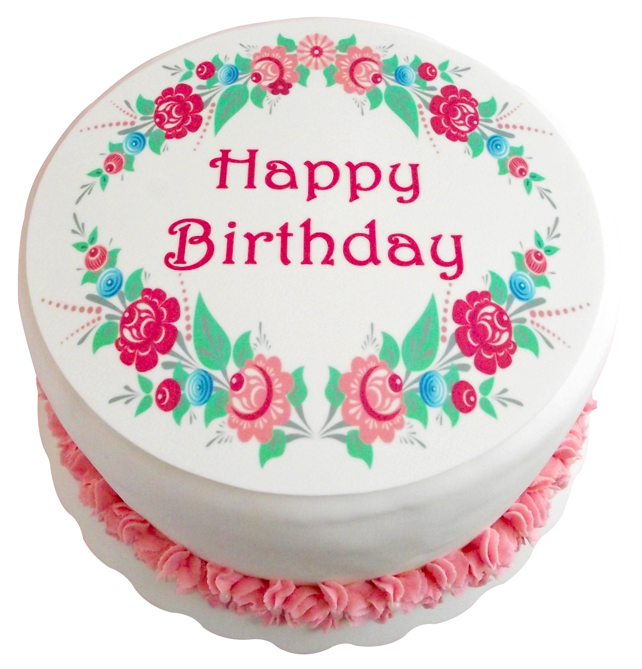 Birthday Cake Png Transparent Image Pngpix