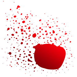 Blood PNG Transparent Image