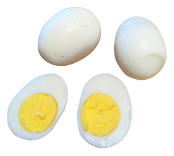 Boiled Egg PNG Transparent Image
