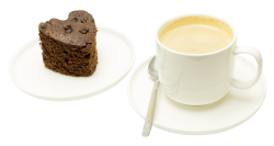 Cake Tea Cup PNG Image