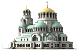 Cathedral Church PNG Transparent Image