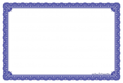 Certificate Template PNG Transparent Image