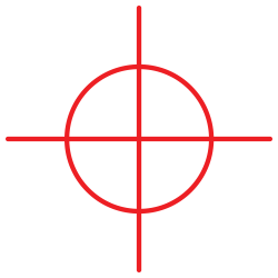 Crosshair PNG Transparent Image