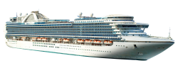 Cruise Ship PNG Transparent Image